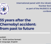 35 years after the Chernobyl accident: from past to future